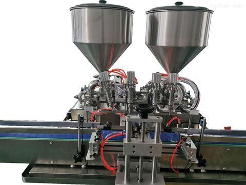自动多头罐装压盖机