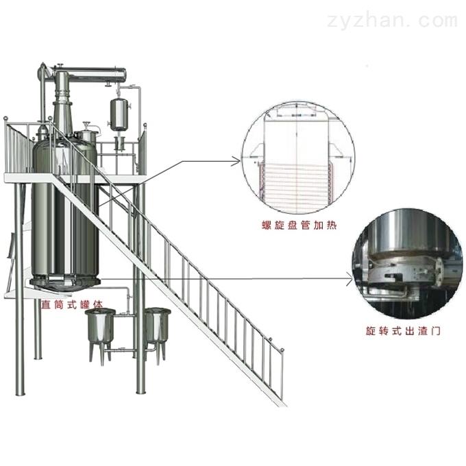 电加热多功能提取罐特点
