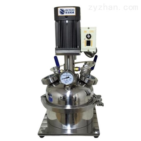 实验室真空乳化机/实验室高压均质乳化机