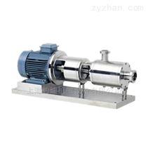 管線式三級高剪切均質乳化泵/在線乳化機