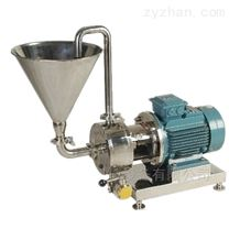 吸粉shi管线shi乳化机,粉液混合jianqie乳化泵