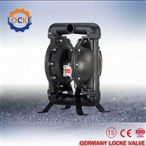 進口鑄鐵氣動隔膜泵產品詳情參數尺寸圖片
