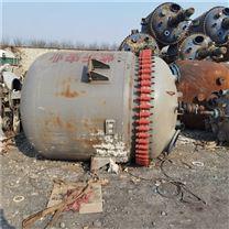 工厂倒闭处理一批二手化工搪瓷反应釜设备