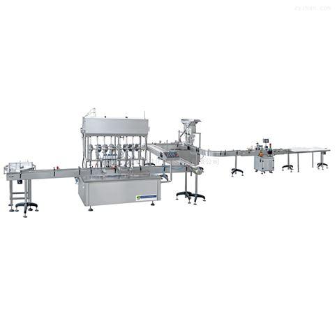 12头不锈钢陶瓷柱塞泵自动液体灌装机