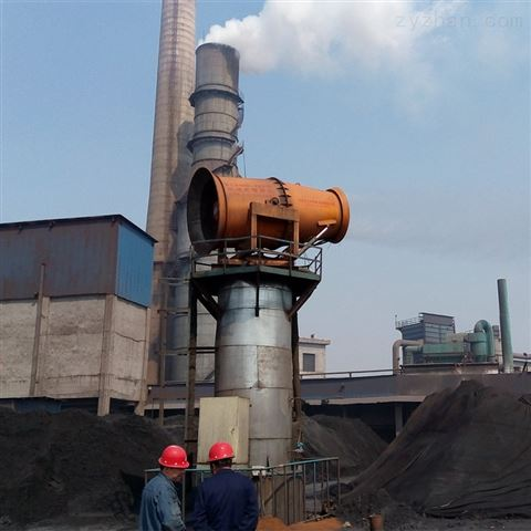 固定式远程射雾器 发电厂除尘雾炮机 除尘器
