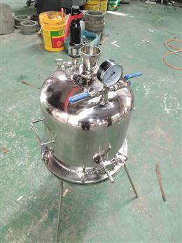 不锈钢实验室保温过滤机