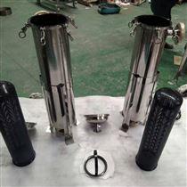 不锈钢单袋式耐酸碱高温过滤机