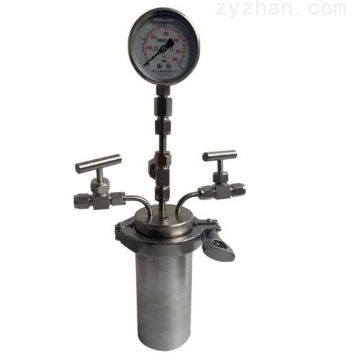 快开式微型高压反应釜