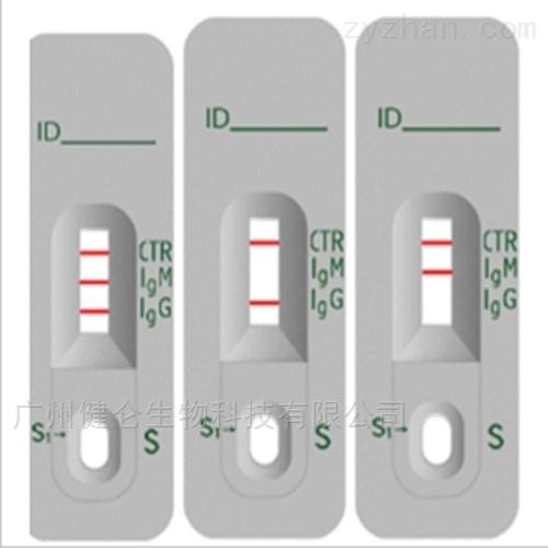 巨细胞病毒IgM抗体快检试剂卡(胶体金法)