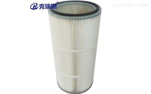 防油防水防静电滤材覆膜除尘滤筒滤芯3590滤芯