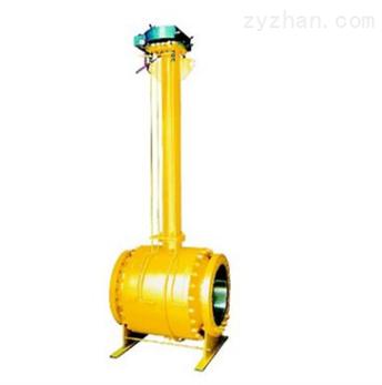 加长杆埋地式全焊接球阀Q61F/H/Y