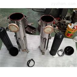 不锈钢单袋式大流量耐酸碱高温过滤机