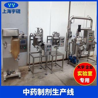 大型小試固體飲料沖劑生產線