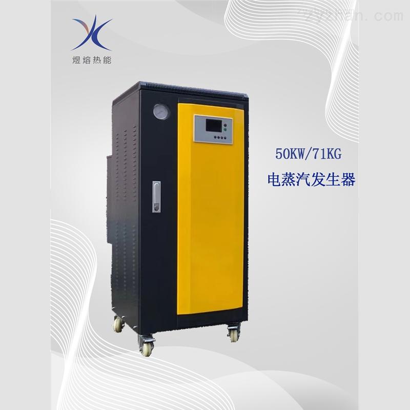上海煜熔50KW全自动电蒸汽发生器