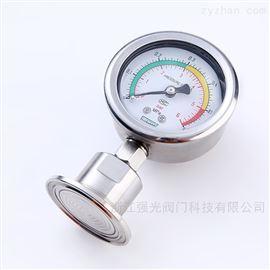 QGV卫生级隔膜式压力表