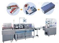 颗粒装盒机/全自动透明膜三维包装机
