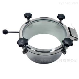 QGRK卫生级全玻璃视镜人孔
