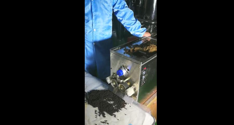制丸机的生产效果展示