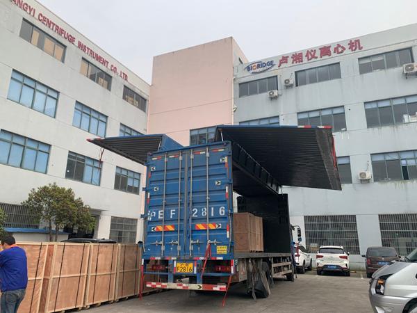 上海卢湘仪10台大容量离心机,入驻人造金刚石生产企业!
